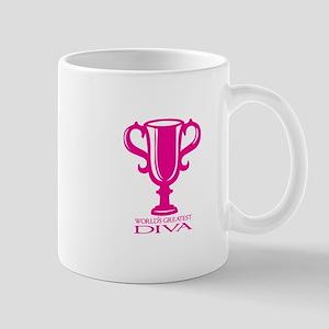 Worlds Greatest Diva Mugs