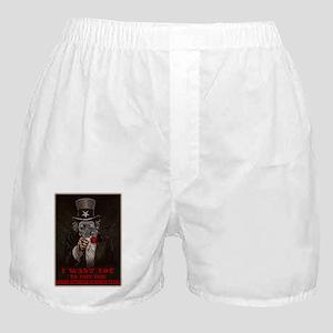 Zombie Outbreak Response Team Recruit Boxer Shorts