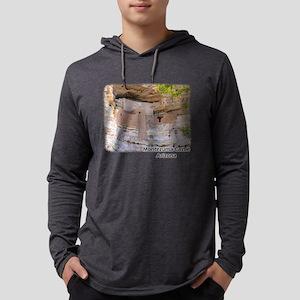 Montezuma Castle Mens Hooded Shirt