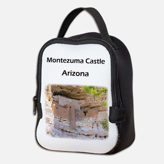 Montezuma Castle Neoprene Lunch Bag