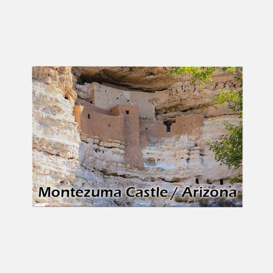 Montezuma Castle Rectangle Magnet Magnets