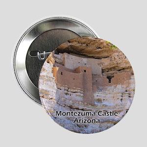 """Montezuma Castle 2.25"""" Button"""