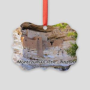 Montezuma Castle Picture Ornament