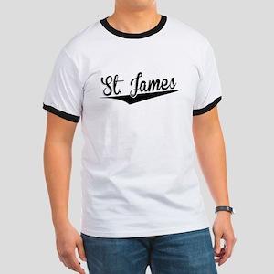 St. James, Retro, T-Shirt