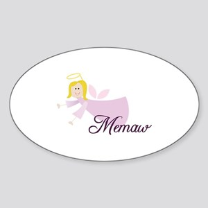 Memaw Angel Sticker