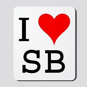 I Love SB Mousepad