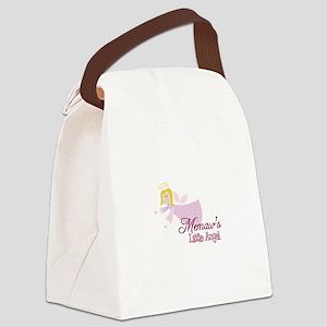 Memaws Little Angel Canvas Lunch Bag
