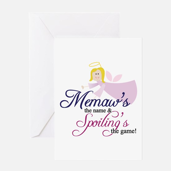 Memaw Angel Greeting Cards