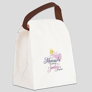Memaw Angel Canvas Lunch Bag