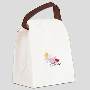 we memaw Canvas Lunch Bag