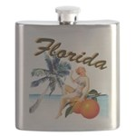 Retro Florida Flask