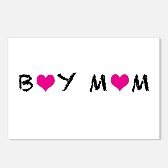 Boy Mom Postcards (Package of 8)