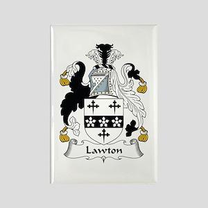 Lawton Rectangle Magnet
