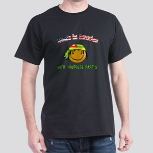 Togolese American Dark T-Shirt
