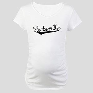 Steubenville, Retro, Maternity T-Shirt