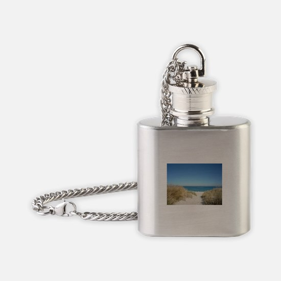 fremantle-beach-242963 Flask Necklace