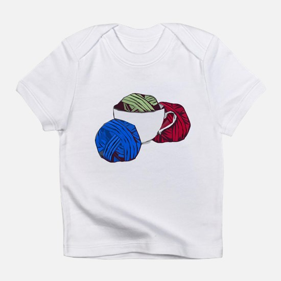 Cup and Yarn Infant T-Shirt
