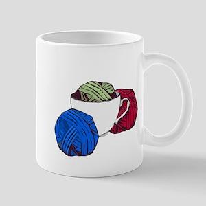 Cup and Yarn Mugs
