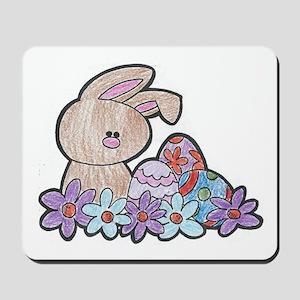 Cute Little Easter Bunny Mousepad