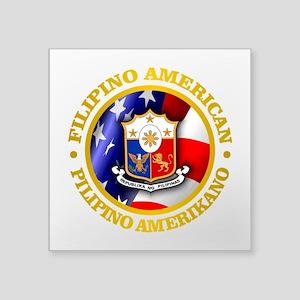 Filipino-American Sticker
