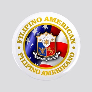 """Filipino-American 3.5"""" Button"""