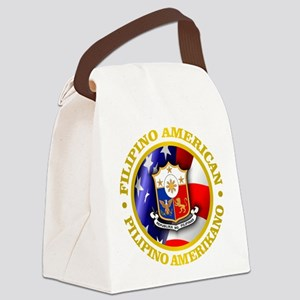 Filipino-American Canvas Lunch Bag