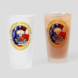 Filipino-American Drinking Glass