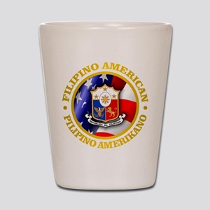 Filipino-American Shot Glass