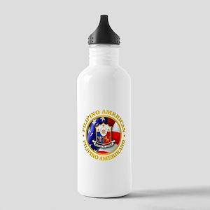 Filipino-American Water Bottle