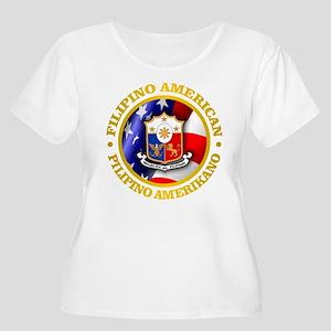 Filipino-American Plus Size T-Shirt