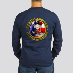 Filipino-American Long Sleeve T-Shirt