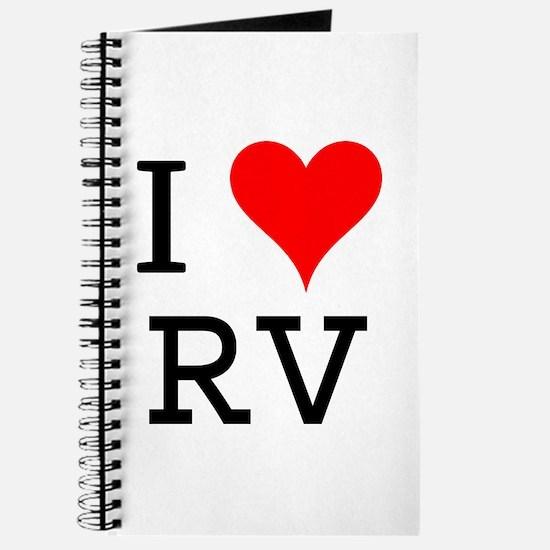 I Love RV Journal