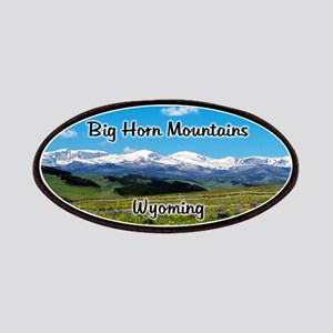 Panoramic Big Horn Mountains Patch