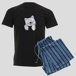Pocket Eski Men's Dark Pajamas