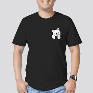 Pocket Eski Men's Fitted T-Shirt (dark)