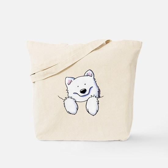 Pocket Eski Tote Bag