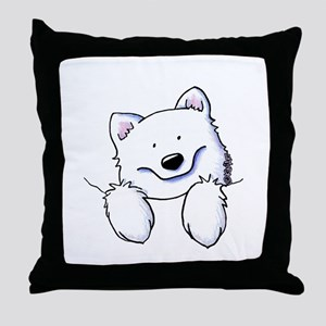 Pocket Eski Throw Pillow