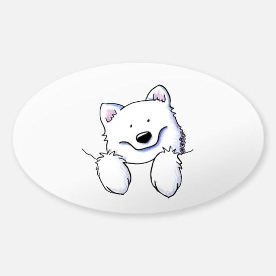 Pocket Eski Sticker (Oval)