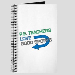P.E. Teachers Good Sports Journal