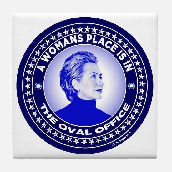 Unique Clinton Tile Coaster