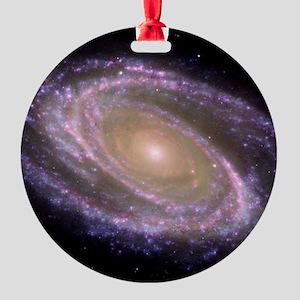 Spiral galaxy NASA image Ornament