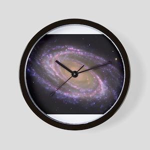 Spiral galaxy NASA image Wall Clock