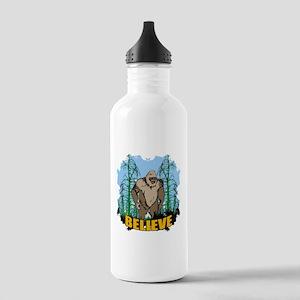 Believe in Bigfoot 3 Stainless Water Bottle 1.0L