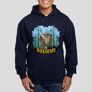Believe in Bigfoot 3 Hoodie (dark)