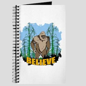 Believe in Bigfoot 3 Journal