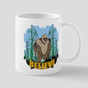 Believe in Bigfoot 3 Mug