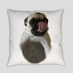 Cute Pug Everyday Pillow