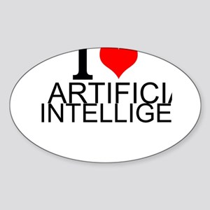 I Love Artificial Intelligence Sticker