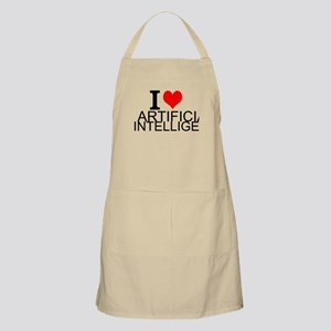 I Love Artificial Intelligence Light Apron