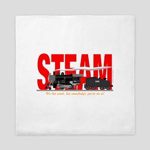 Steam Logo Queen Duvet